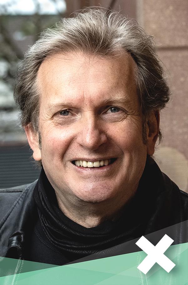 Gerhard Trabert, Kandidat für die Bundestagswahl: Bild des lächelnden Kandidaten.